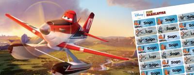 Disney Flygplan namnlappar