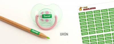 Minilappar Grön