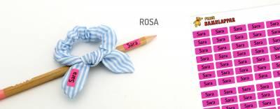 Minilappar Rosa