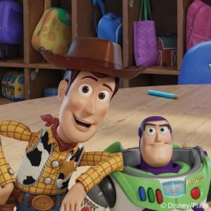 Strykfria namnlappar med Toy Story