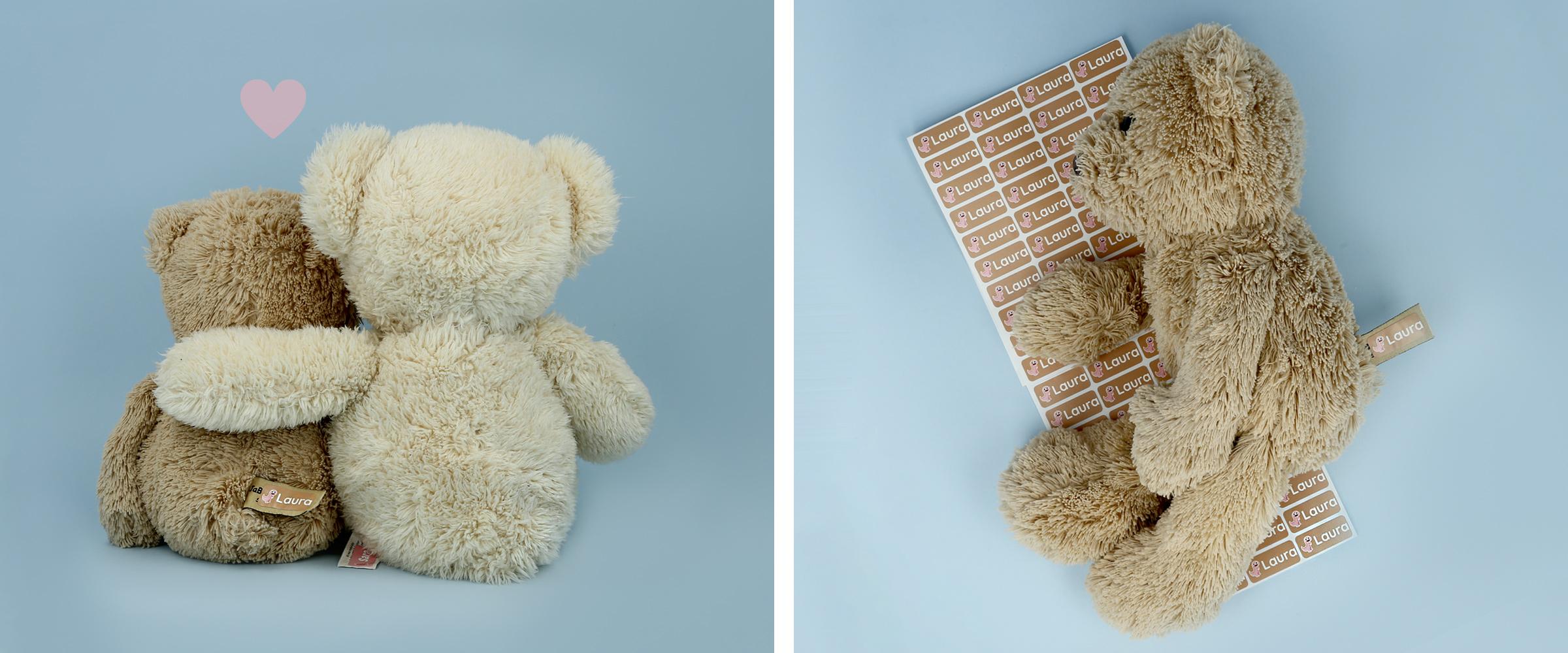 namnlappar teddy
