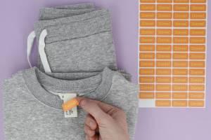 Märkning av kläder och saker