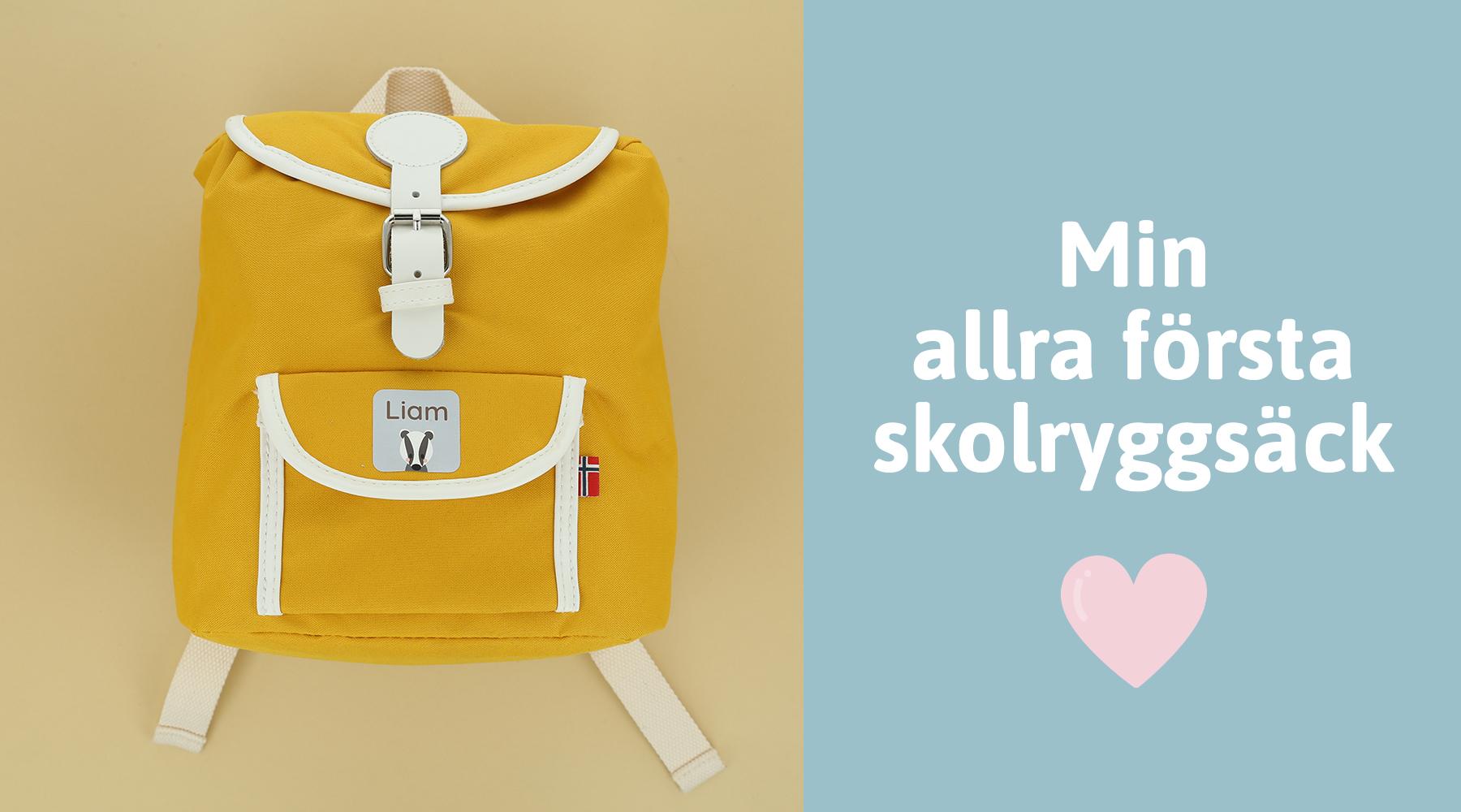 Skolryggsäck till förstaklassare
