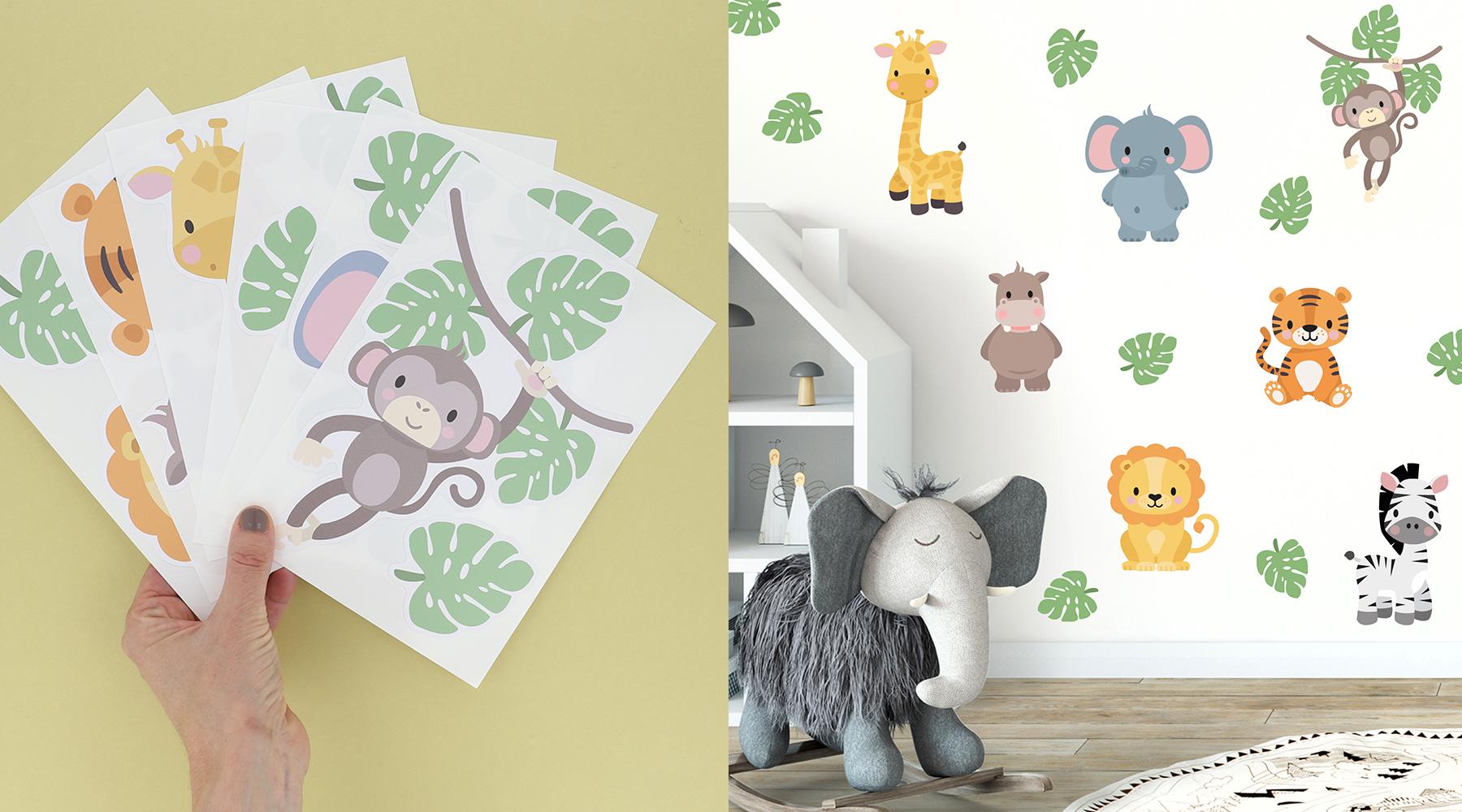 Julklappstips: Personlig wallstickers till barnrummet är en fantastisk julklapp