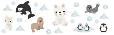 Väggdekor: Arktiska djur