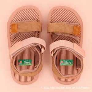 Peppa Gris namnlappar till skor