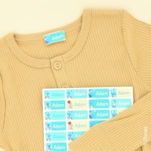 Märk kläder och saker med Doc McStuffins namnlappar